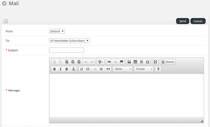 how to send emails to a specific group on aweber